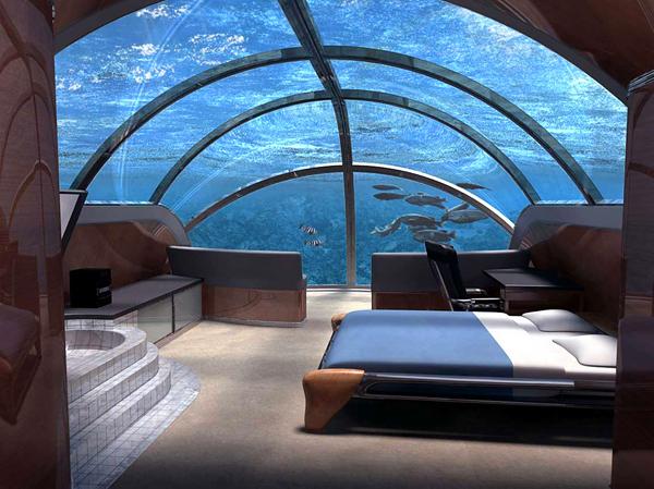 Υποβρύχιο Θέρετρο Poseidon στα Φίτζι