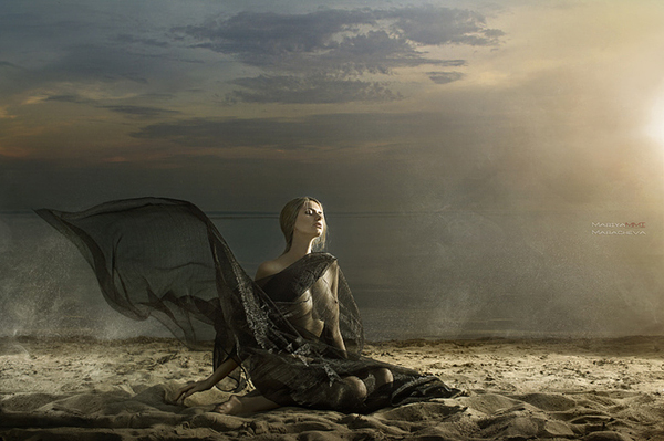 Φωτογράφου mariya maracheva. αισθησιακό γυμνό