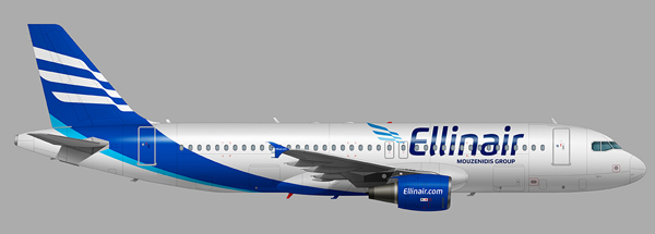 Το Σήμα της Αεροπορικής Εταιρίας Ellinair από τον Ιωάννη Κωστίδη