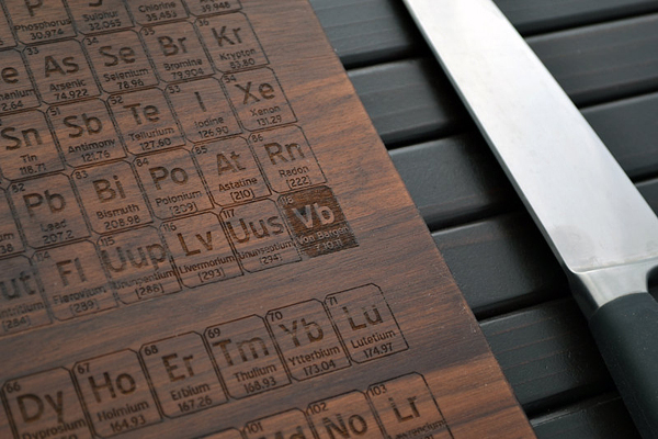 Εξατομικευμένες σανίδες κοπής απότον Elysium Woodworks