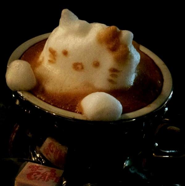 3D-σχέδια για τον καφέ