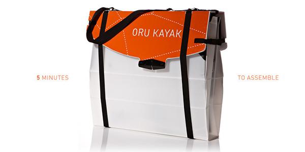 Η Τέχνη του Οριγκάμι στο Oru Καγιάκ
