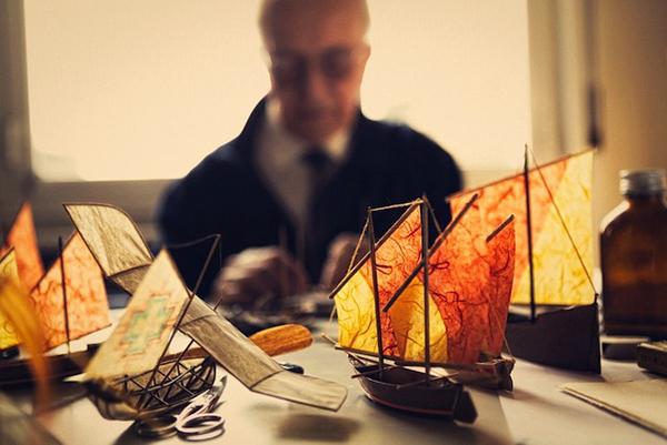 Luigi Prina: Τα Πλοία Που Πλέουν Στα Σύννεφα