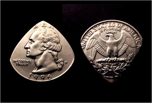 Δημιουργικές Πένες Κιθάρας από Νομίσματα