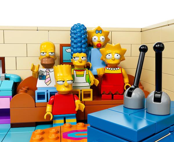 Οι Simpsons από Τουβλάκια LEGO