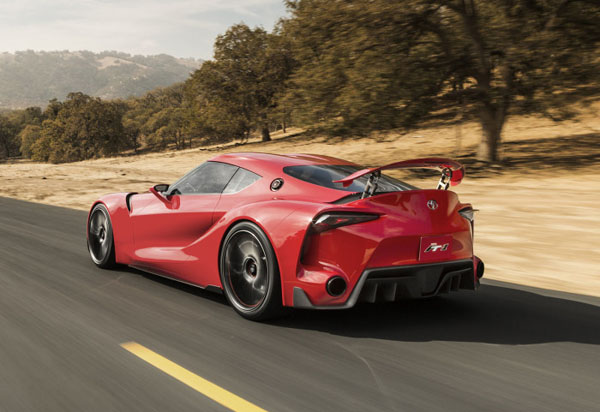 Το Συναρπαστικό Μέλλον της Toyota FT1 Concept