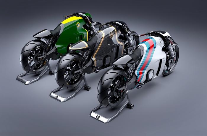 """Η Πρώτη Μοτοσυκλέτα της Lotus """"C-01"""" από τον Daniel Simon"""
