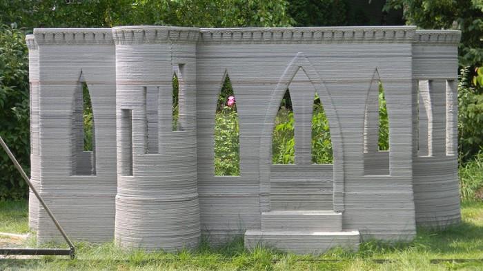 Τρισδιάστατο Τυπωμένο Κάστρο από Μπετόν