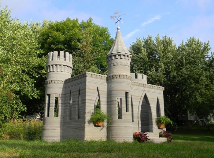 Τρισδιαστατο Τυπωμένο Κάστρο από Μπετόν