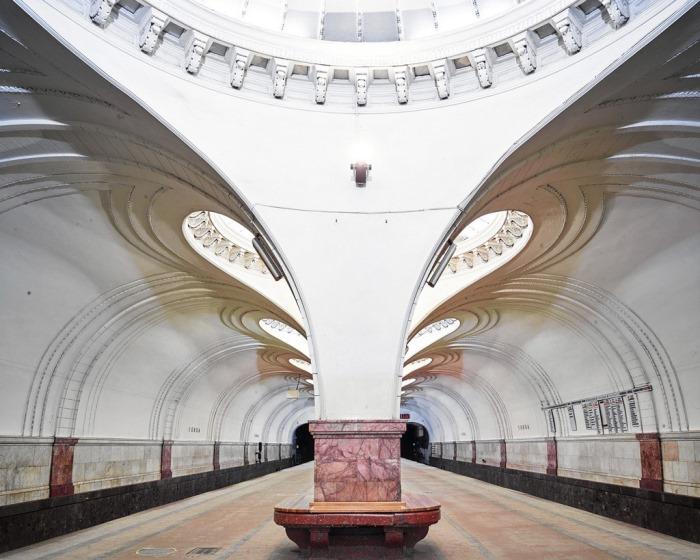 Οι Ιστορικοί Σταθμοί του Μετρό στη Μόσχα