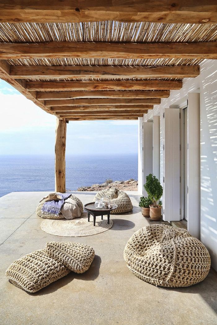 Το Θερινό Σπίτι με τη Μαγευτική Θέα στη Σύρο