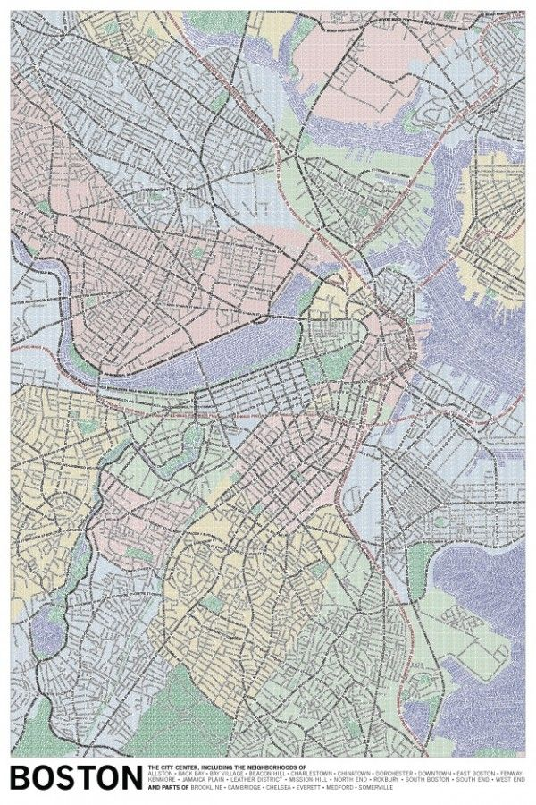 Τυπογραφικοί Χάρτες