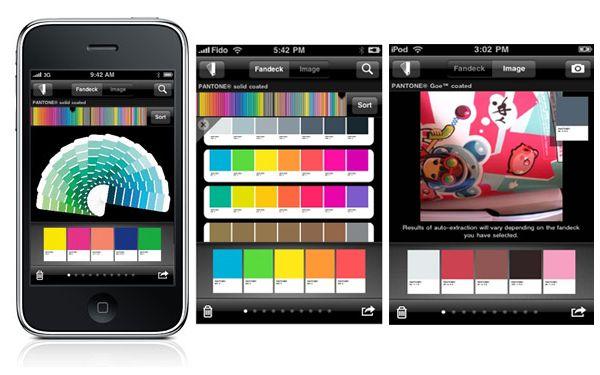 Pantone iPhone Application