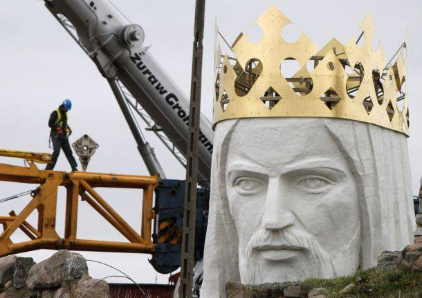 Άγαλμα Χριστού Πολωνία