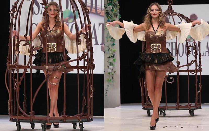 Επίδειξη Σοκολατας Παρίσι