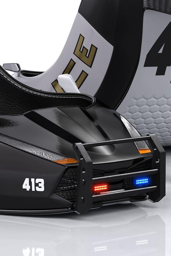 3D Stiletto Police