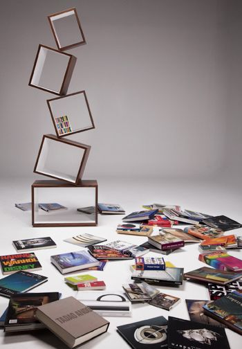 Bookcase floating air