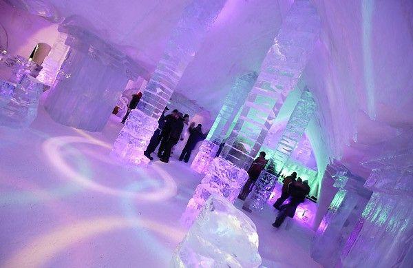 Κάστρα από πάγο