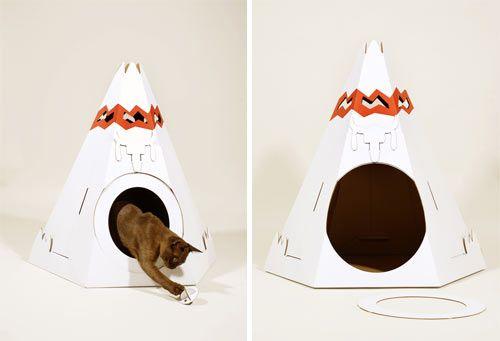 Σπίτια από χαρτόνι