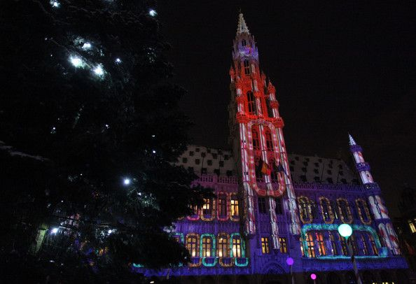 Christmas Lights in Brussels