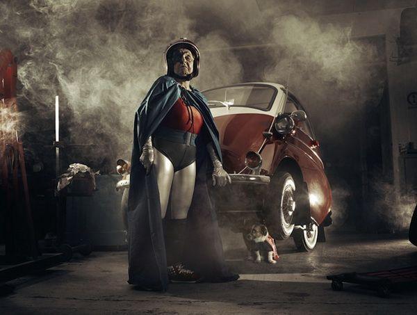 Grandmother Superhero