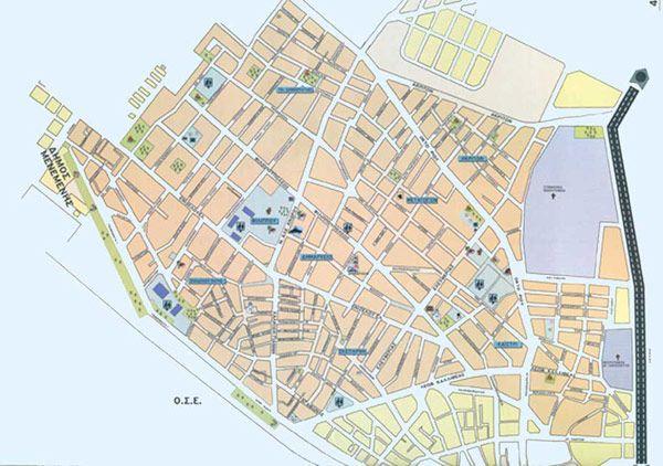 Χάρτης Θεσσαλονίκης