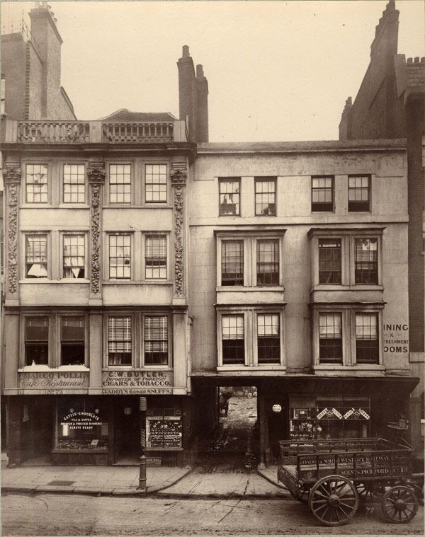 Ghosts of old London