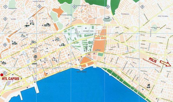 Thesaloniki Map