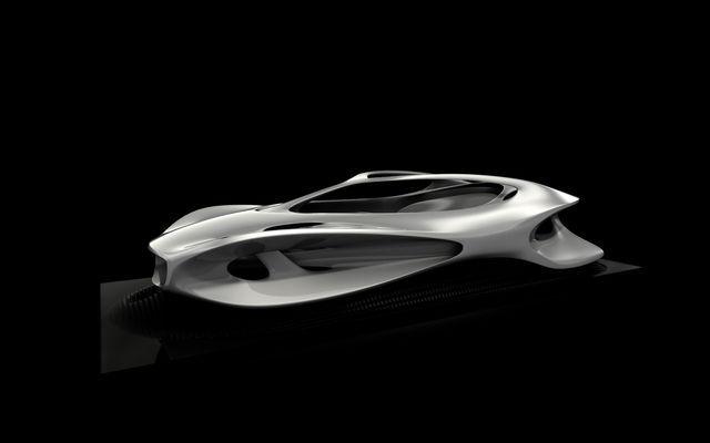 Γλυπτική Mercedes Benz