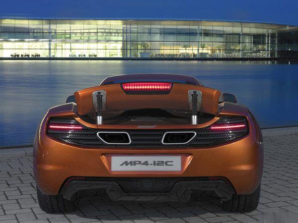 Νέα McLaren MP4-12C