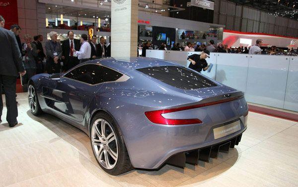 Νέα Aston Martin One-77