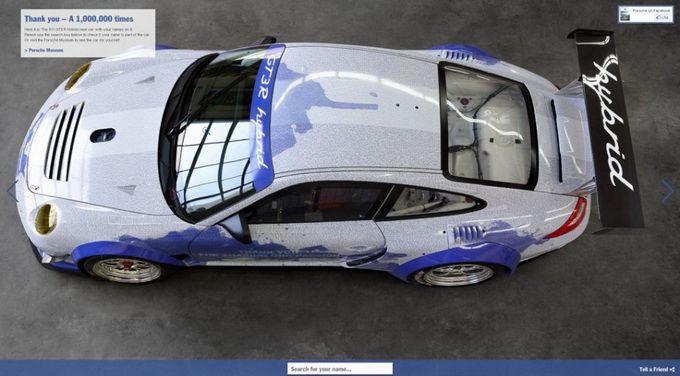 Νέο Porsche-Facebook Αυτοκίνητο