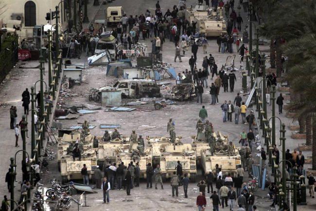 Οργή στην Αίγυπτο