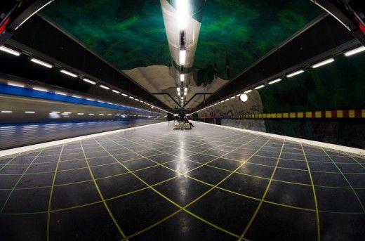 Στοκχόλμη T-Bana Μετρό