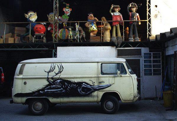 Τέχνη Δρόμου στο Μεξικό