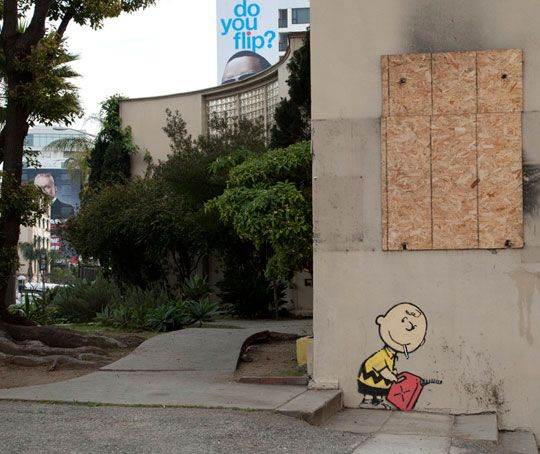 Banksy στο Χόλιγουντ