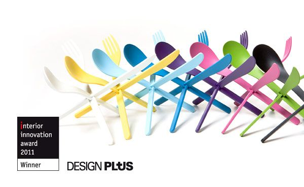 Colourful JOIN Cutlery by DING3000