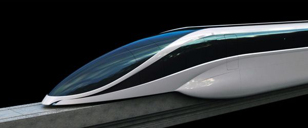 Concept EOL Maglev Train