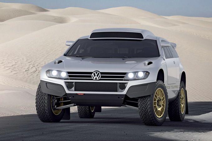 Concept Volkswagen Race Touareg 3 Qatar
