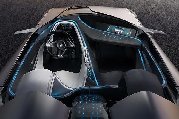 ConnectedDrive BMW - Εσωτερική πανοραμική θέα BMW