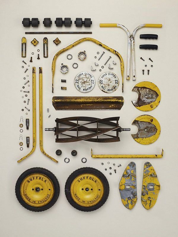 Disassembled Objects Todd McLellan