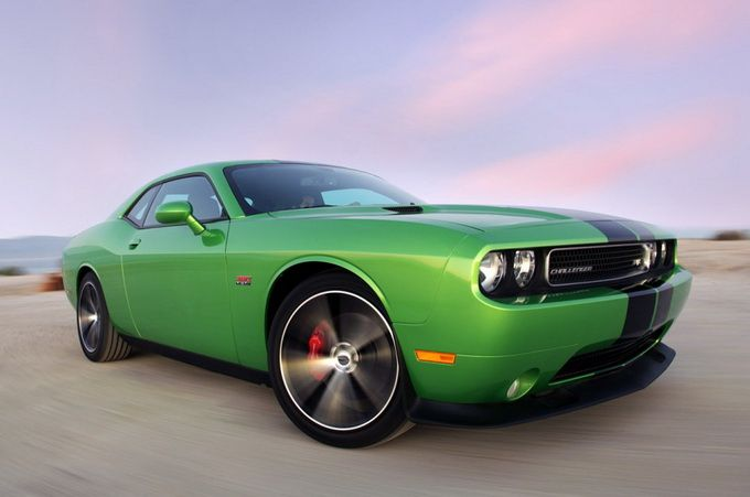 Dodge Challenger SRT8 Green With Envy