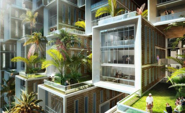 Eco Village Coral Reef by Vincent Callebaut