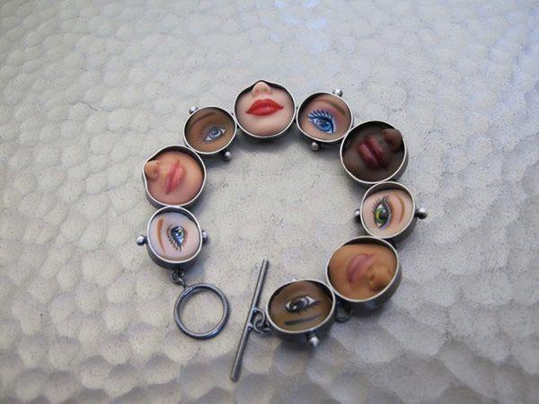 Jewelry from Barbie Dolls