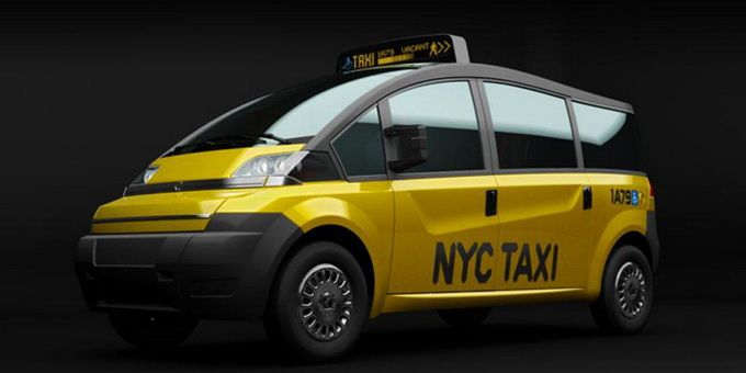 Karsan V1 New York City Taxi Concept