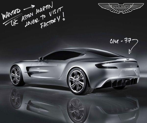 New Aston Martin One-77