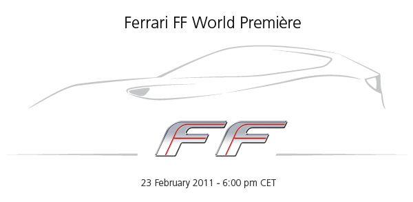 New Ferrari FF 2012