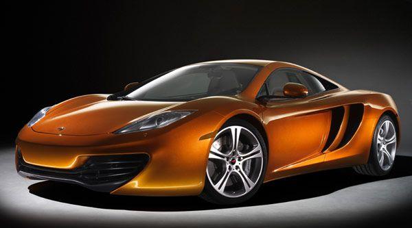 New McLaren MP4-12C