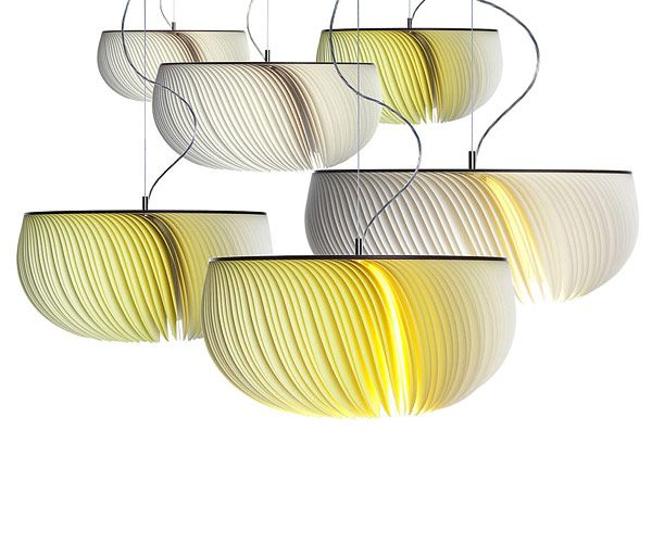 Paper Moonjelly Lamps Limpalux