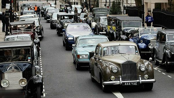 Parade Rolls-Royce London
